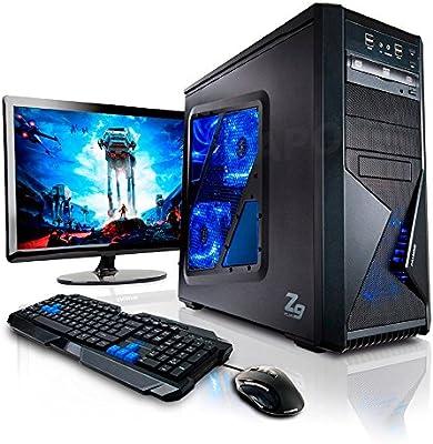Pack Gaming - Ordenador Gaming AMD 6X 3.50GHz • LED 22
