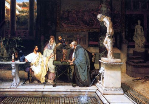 Sir Lawrence Alma-Tadema A Roman Art Lover - 18.1