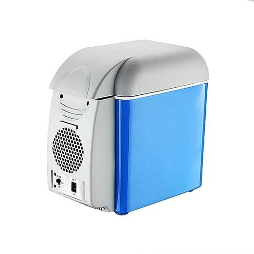 Compresor nevera nevera portátil 7.5L Mini nevera eléctrica/caja ...