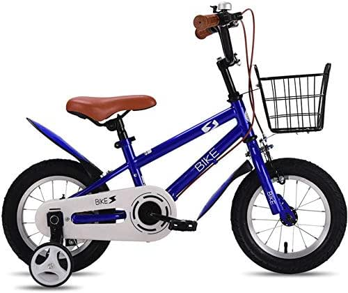 YUMEIGE Kids' Bikes 12 14 16 18 Inch Wheel Girls Bike,Kids' Children Bike (Age 5 to 8 Years),Kids' Freestyle Bike Children's Gift 3 Colors Available (Color : Navy Blue, Size : 18in)