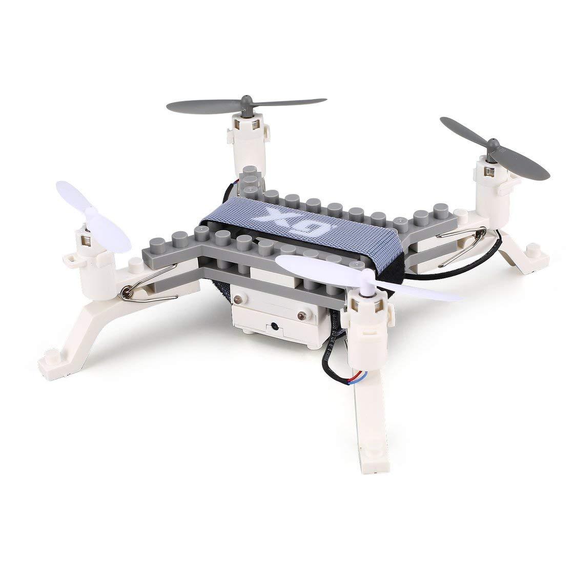 XG171 Smart RC 2.4G RC Baustein 3D Ziegel FPV Quadcopter Drohne Flugzeug mit Kamera Höhenstand Headless Modus 3D Flips