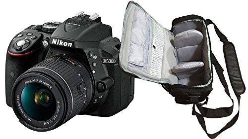 D5300 DSLR Camera + AF-P 18-55mm VR Lens + KamKorda Pro Camera Bag