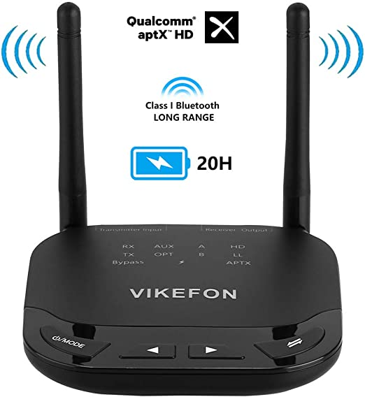 3in1 Bluetooth 5 0 Audio Receiver Transmitter Aptx Ll Hd Wireless Adapter 262ft 80m Long Range Für Tv Car Pc Rca 3 5mm Aux Spdif Wireless Adapter Sport Freizeit