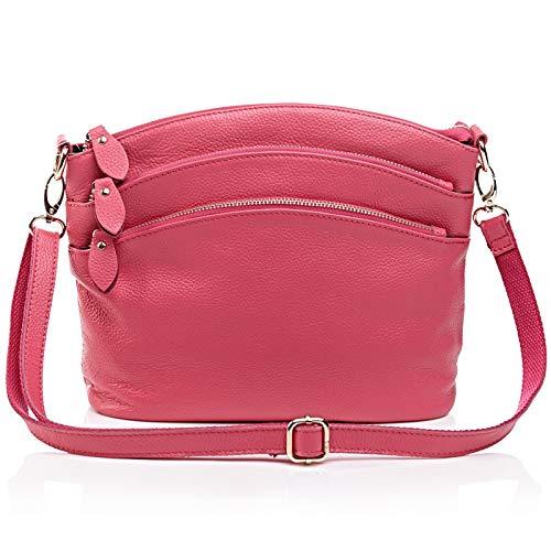New Casual Medio Diagonale For Rosered Donna Temperamento Ladies tinta Donna Madre Evo unita Spalla Bag rnq1z5BW0r