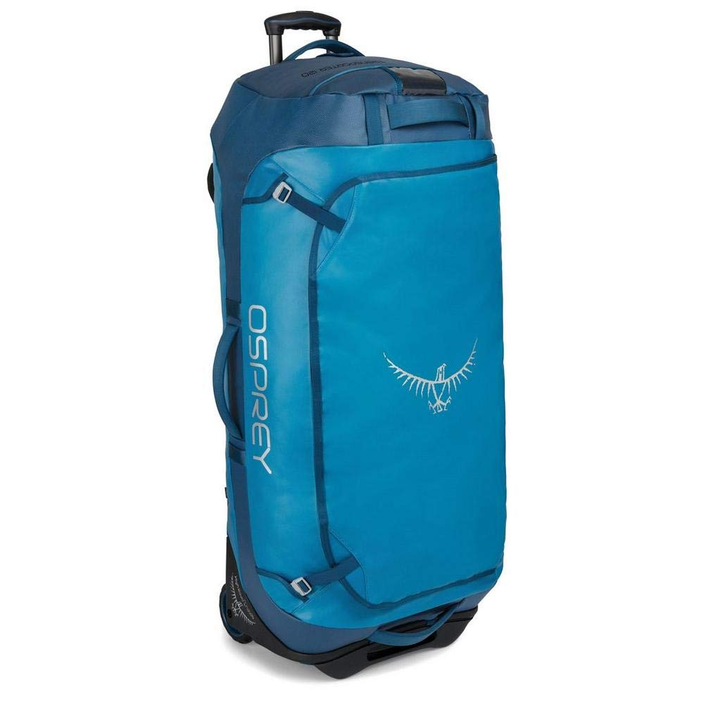 Osprey Packs Rolling Transporter 120 Duffel Bag, Kingfisher Blue