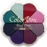 Clearsnap Colorbox Fluid Chalk Petal Point Option Inkpad, Blossom Pastels, 8 Colors Per Pad