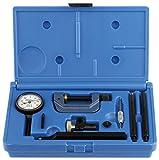 Fowler 52-570-000 Economy Universal Test Indicator Set, 0.200'' Maximum Measuring Range, 0.001'' Graduation Interval, 1.5'' Diameter