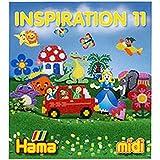 Hama - 399-11 - Loisirs Créatifs - Livre Inspiration n°11 - Perles à Repasser Midi - 64 Pages