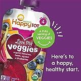 Happy Tot Organic Stage 4 Love My Veggies 4 Flavor