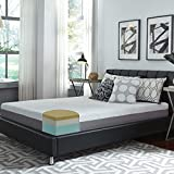 Slumber Solutions Choose Your Comfort Foam and Memory Foam 10-inch Queen Mattress White Plush Soft