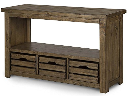 - Magnussen Stratton Rectangular Entryway Table with Storage