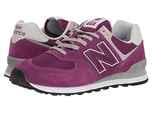 [new balance(ニューバランス)] メンズランニングシューズ?スニーカー?靴 ML574 Purple 10 (28cm) EE - Wide
