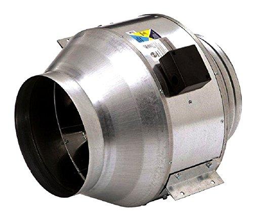 Axial Centrifugal Fans - Fantech FKD 8XL Inline Mixed Flow Duct Fan, 836 Cfm, 115/1/60, 8