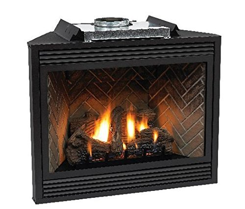 "Empire Comfort Systems Premium 36"" Direct-Vent NG Millivolt Control Fireplace"