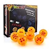 DragonBall Z Replica Crystal Ball Anime Dragonball Set of 7Pcs (42MM) by Cindyshop