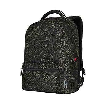 """Wenger 16"""" Laptop Backpack with Tablet Pocket, Black Fern 606466"""