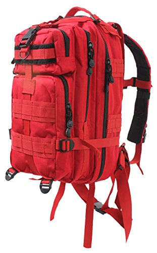 Rothco Medium Transport Pack, Red (Transport Backpacks)