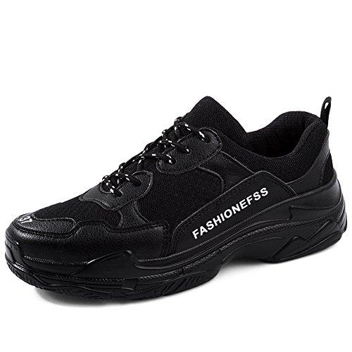 Deportivas Deportivos Mujeres de de los Zapatos Nueva Mujer Amantes Hombres EU Marca Zapatos Hombre Zapatillas Viaje Size Zapatos Casual de Gran Correr Negro de de Malla de New 2018 de Tamaño zxvTg5xq