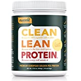 Nuzest Clean Lean Protein - Premium Pea Protein Powder, Plant-based, Vegan, Dairy Free, Gluten Free, GMO Free, Naturally Sweetened, Smooth Vanilla, 20 servings, 1.1 lb