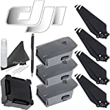 DJI Mavic Pro Accessory Bundle: Includes 3 Mavic Intelligent Flight Batteries, Charging Hub, 4 Mavic Propellers & eDigitalUSA Microfiber Cleaning Cloth