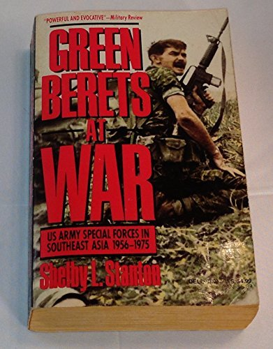 Green Berets at War: U.S. Army Special Forces in Southeast Asia 1956-1975 by Shelby L. Stanton (1987-07-01) (Us Army Special Forces Green Beret For Sale)