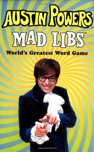 Austin Powers Mad Libs by Brand: Price Stern Sloan