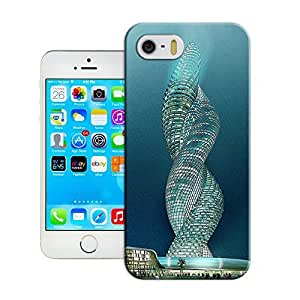 Haoyucase iphone 5/5s caseKuwait's cobra tower famous Architecturebest best durble and popular iphone 5/5s case cover