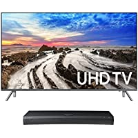 Samsung UN55MU8000 55 4K UHD HDR Smart TV with UBD-M9500 4K Ultra HD Blu-ray Player