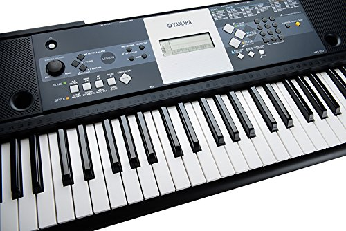 Yamaha ypt 230 portable keyboard black keyboards zone for Yamaha learning keyboard
