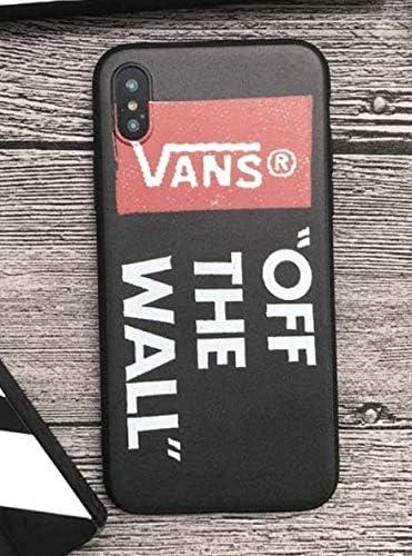 JB - Shop Coque iPhone 6 / 6S Vans Sport Skate Skateboard Streetwear Noir Off The Wall