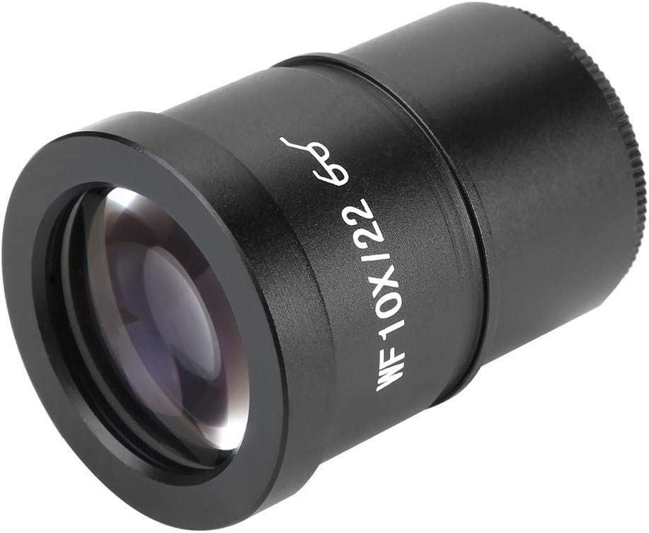 Capture and Record The Beauty in The Micro World Rosvola WF006G-b WF10X 22mm Wide-Angle Microscope Eyepiece Stereo Ocular Eyepoint Lens 30.5mm