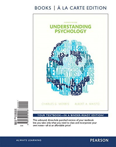Understanding Psychology, Books a la Carte Edition (11th Edition)