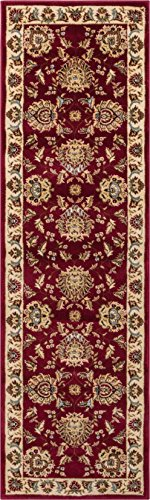 (Well Woven Timeless Abbasi Red Traditional Area Rug 2'7