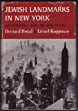 img - for Jewish landmarks in New York: An informal history and guide book / textbook / text book