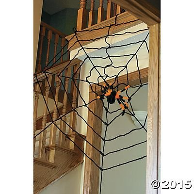 EXTRA LARGE 6 FOOT HALLOWEEN SPIDER WEB (Spider Web Decorations)