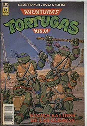 Tortugas Ninja numero 5: Varios: Amazon.com: Books