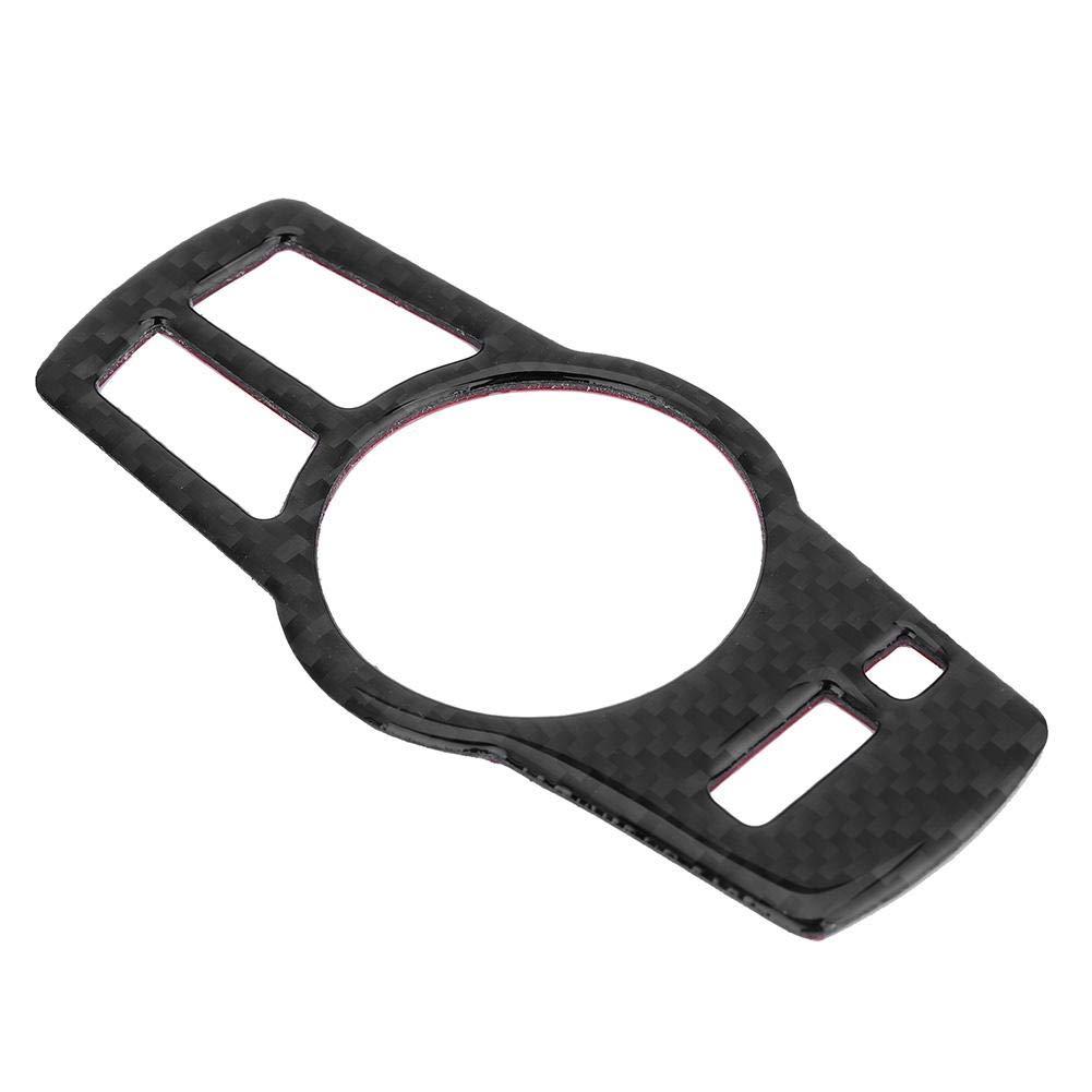 KIMISS Carbon Fiber Scheinwerfer Schalter Tasten Abdeckung Trim Car Styling B