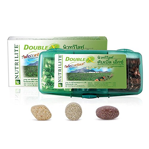 Nutrilite Double X Multivitamin/multimineral/phytonutrient -186 Tablets (31-day Supply)