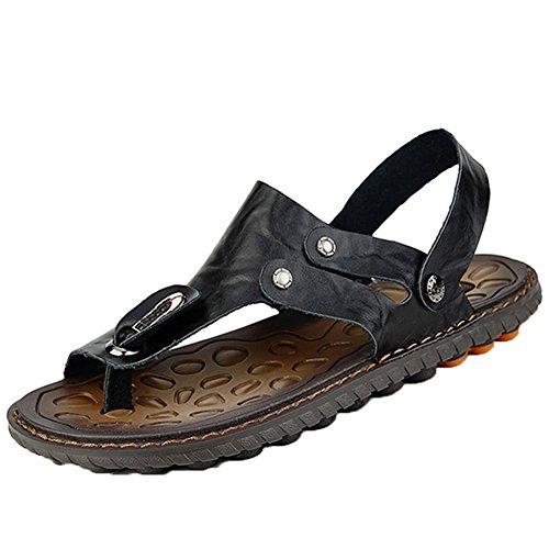 Verano Negro Temporada Zapatos De De Playa Sandalias Hombre Insun Zapatillas Antideslizante pvFxtg5