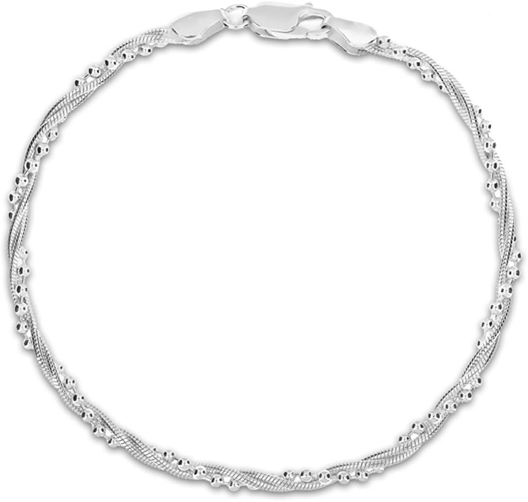 Tuscany Silver 8.20.4561 - Pulsera de plata de ley (925/1000)