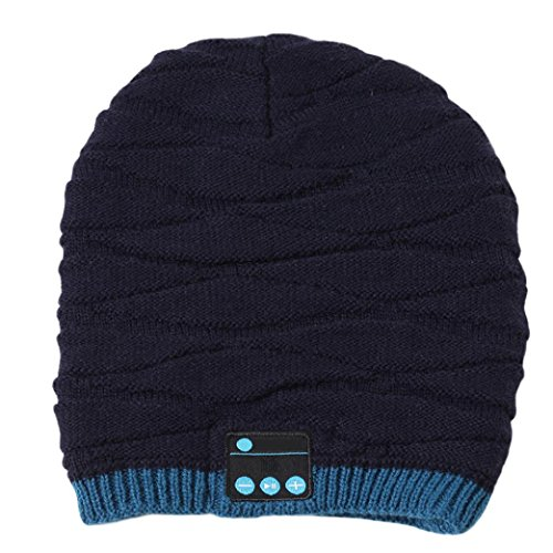 Coohole Fashion Bluetooth Smart Beanie Winter Knit Hat Wireless Musical Headphones - Definition Fashion Collection