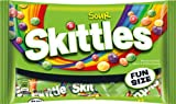 Skittles Fun Size Bag, Sours (Pack of 24)