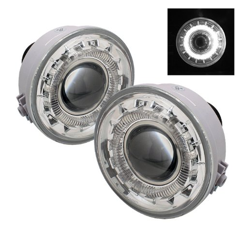 Ford F150 ( Manu.Date Aug 2005 to June 2010 ) / Lincoln Mark LT Halo Projector Fog Lights With Clear Lens