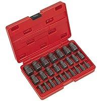 Sealey ak8182Multi llaves de extractor de tornillos Set