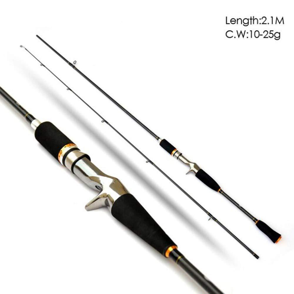 YWHY Cañas De Pesca Caña De Pescar De Carbono Spinning M Power ...