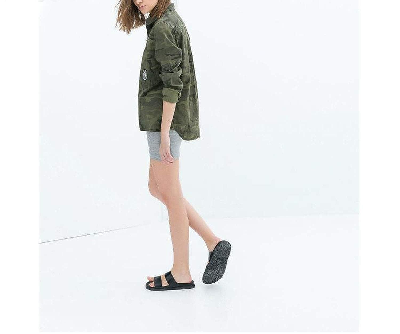 Amazon.com: Aancy 2018 Fashion Long Sleeve Chaqueta Militar ...