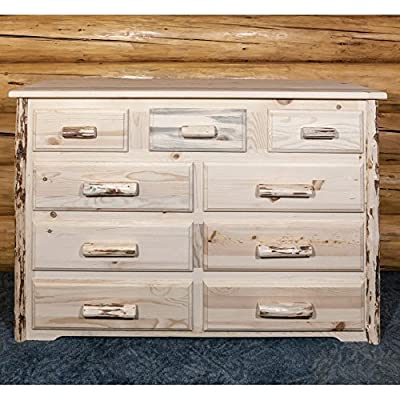 Montana Woodworks Montana 9 Drawer Dresser