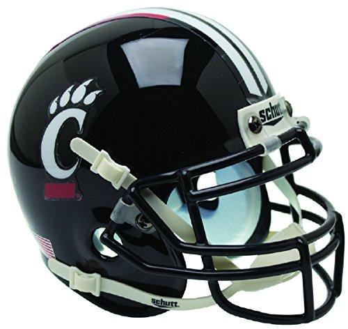 Schutt NCAA Cincinnati Bearcats Mini Authentic XP Football Helmet, Alt. 1, Mini Cincinnati Bearcats Replica Mini Helmet
