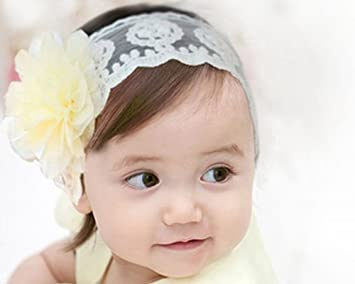 Amazon Com Bonamart Baby Girls Kids Toddler Princess Hair Bands