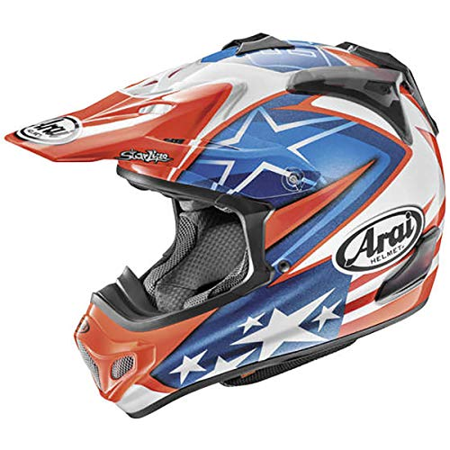 Arai VX-Pro4 Nicky-7 Adult Off-Road Motorcycle Helmet - Blue/Large